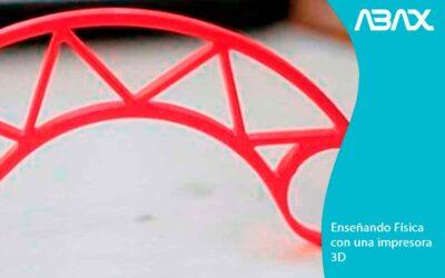Enseñando Fisica con una impresora 3D: beneficios para la educación