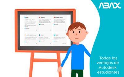 Todas las ventajas de Autodesk estudiantes: vente a conocerlas