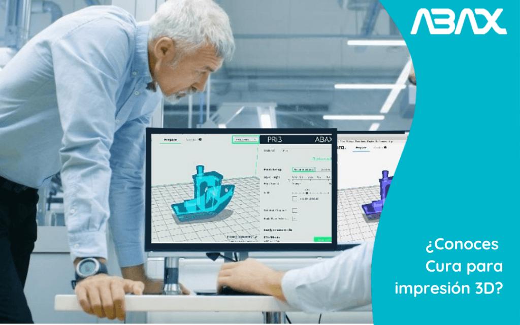 Descubre Cura, software de laminado 3D