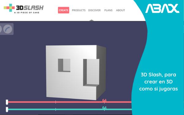 3D Slash, para crear en 3D como si estuvieras jugando