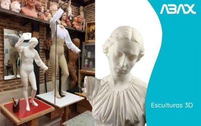 Esculturas fabricadas en 3D  ¿Quieres conocer cómo hacerlas?