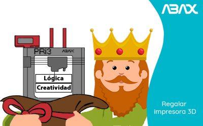 Por qué los Reyes Magos deberían regalar una impresora 3D
