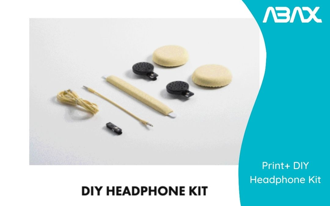 Destaca tu personalidad con el Print+ DIY Headphone Kit