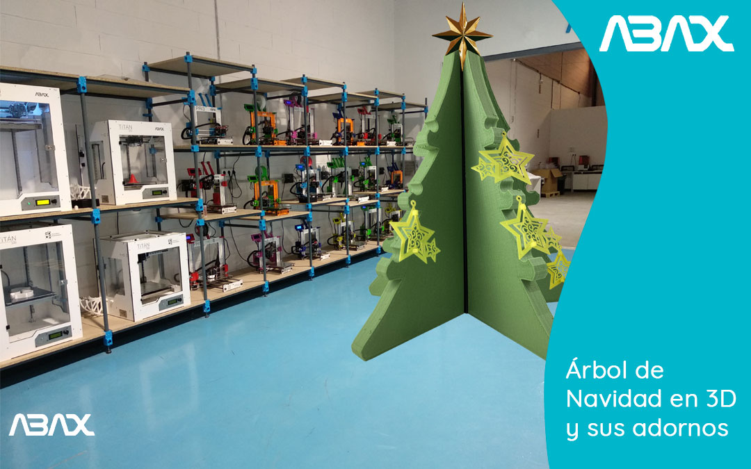 Árbol-de-Navidad-impreso-en-3D