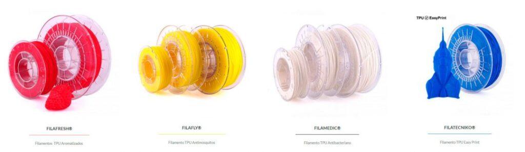 filamento-TPU