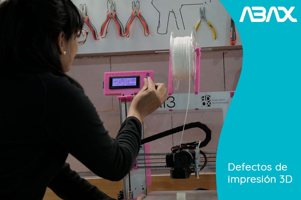 Defectos de impresión 3D y cómo solucionarlos