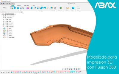 Modelado para impresión 3D con Fusion360