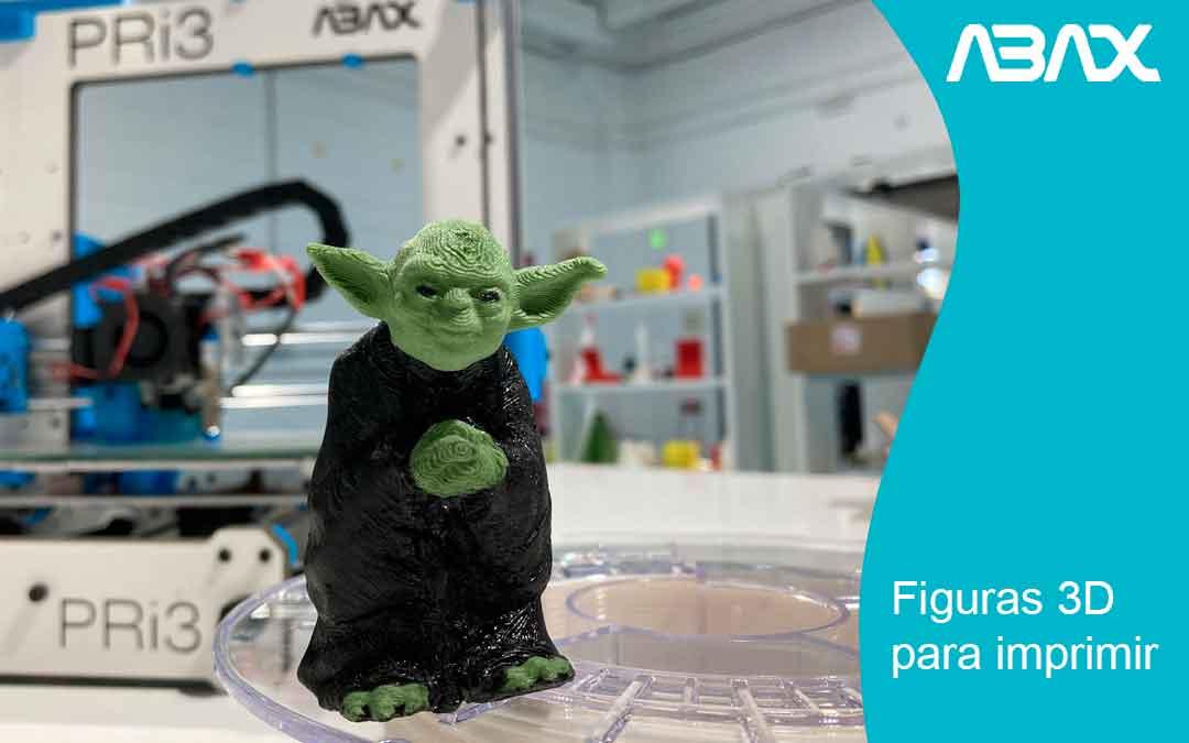 ¿Figuras 3D para imprimir? Sí, ¡ya puedes imprimir tus personajes o figuras favoritas!