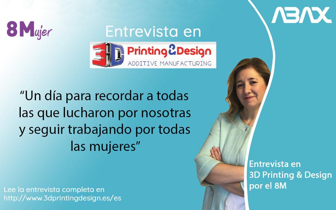 8M 2021: Entrevista en 3D Printing & Design en el día de la mujer
