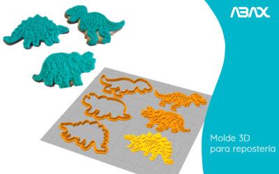 Molde 3D: todo lo que se puede hacer para repostería con impresión 3D