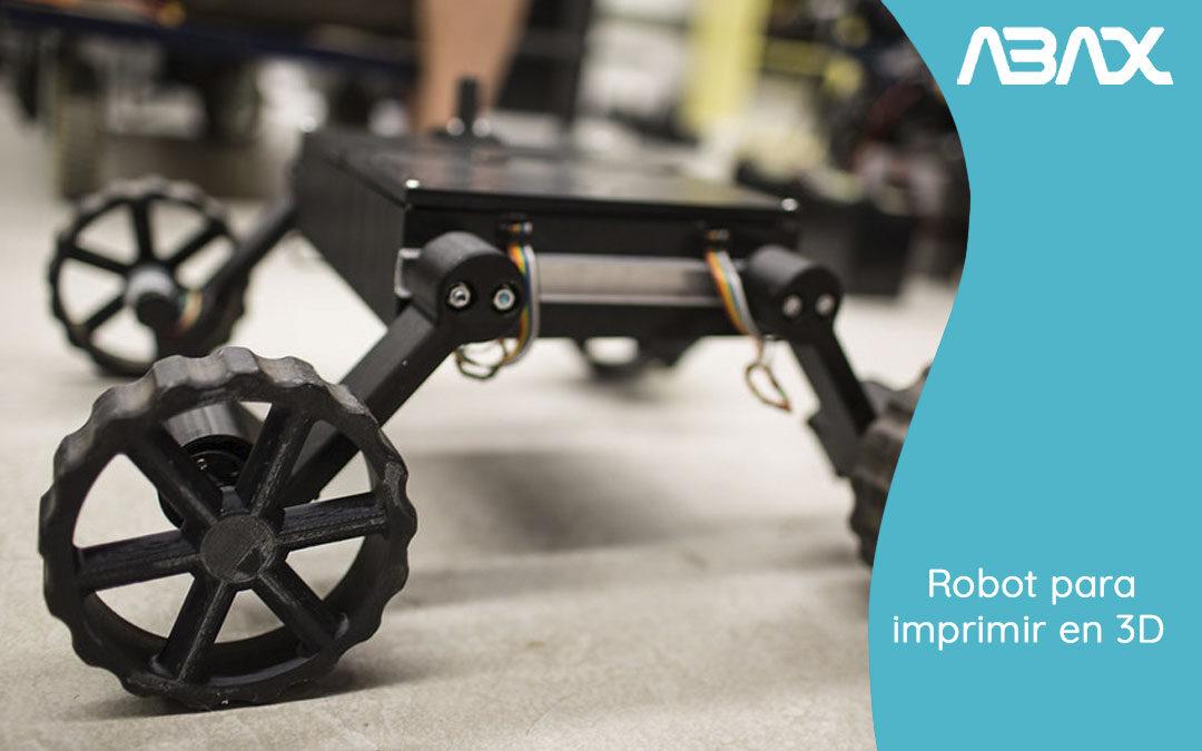 Robot para imprimir en 3D y su influencia en la economía circular