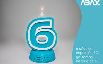 Abax, 6 años en impresión 3D, ya somos historia de 3D