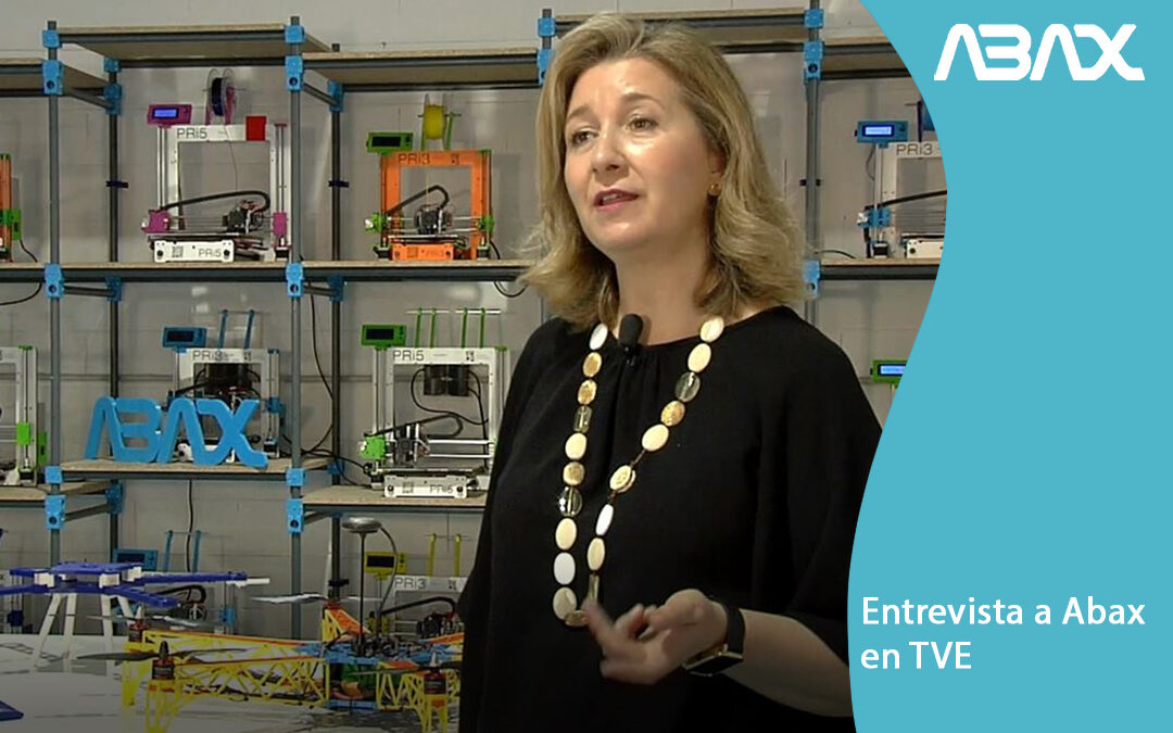 Impresión 3D en la Industria 4.0 – entrevista a Abax en TVE