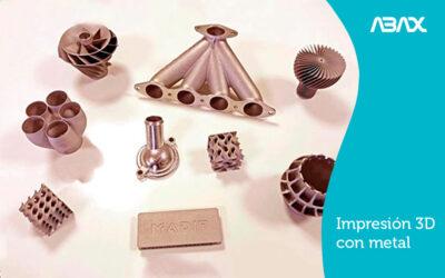 Impresión 3D con metal: la revolución de la fabricación industrial