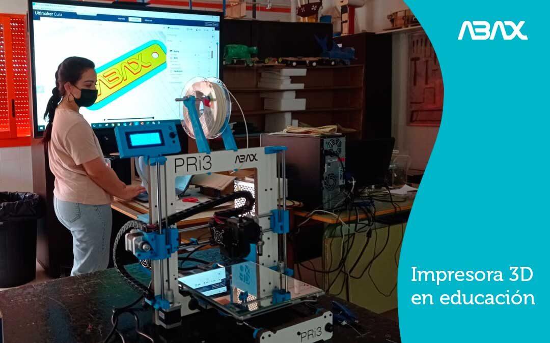 Impresora 3D en educacion: curso de impresion 3D en IES Las Rozas 1
